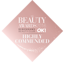 Beauty Awards Commended Badge